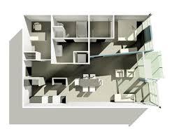 david baker architects channel lofts one bedroom loft