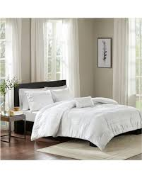 deal alert white amari cotton seersucker duvet cover set full