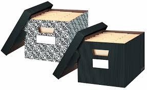 amazon com bankers box stor file decorative storage boxes