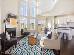 hyett s crossing twin homes new paired homes in middletown de family great room