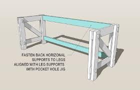 Office Desk Plans Captivating Computer Desk Plans Remodelaholic Custom Computer Desk