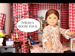 Big Barbie Dollhouse Tour Youtube by American Doll House Tour Felicity U0027s Room Youtube Sami
