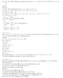 relations and functions class 11 mathematics ncert solutions