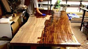 how to finish a table top with polyurethane how to apply polyurethane to floors large size of finish for kitchen