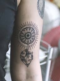 gerbera upper arm tattoo best tattoo design ideas