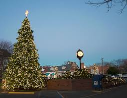 clayton tree lighting 2017 christmas spring lake new jersey downtown