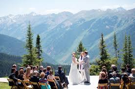 mountain wedding aspen colorado mountain wedding megan bobby rustic wedding chic