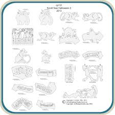 Free Wood Carving Patterns Downloads by Halloween Scroll Saw 2 Patterns U2013 Classic Carving Patterns