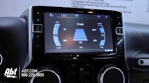 jeep wrangler navigation system alpine 9 restyle dash system jeep wrangler ces 2015