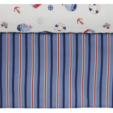 Lambs And Ivy Bedding For Cribs by Lambs U0026 Ivy Bedtime Originals Sail Away 3 Piece Crib Bedding Set
