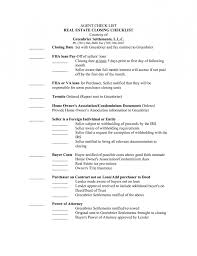 template check list a good real estate agent resume template example
