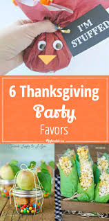 6 thanksgiving favors tip junkie