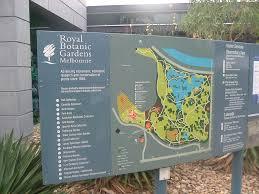 Royal Botanical Gardens Melbourne Map Royal Botanic Gardens Melbourne 2006 Mapio Net