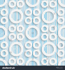 seamless rings pattern abstract contemporary background stock
