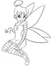 tinkerbell coloring printable tinkerbell and friends coloring