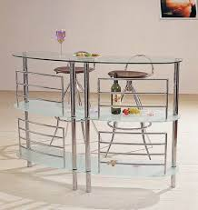 Glass Bar Table Bar Tables And Chairs Homes And Garden Journal