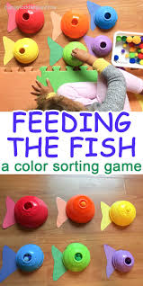 feeding the fish simple colors fish and gaming
