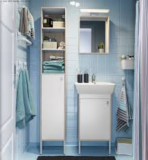 bathroom ikea bathroom cabinets with shelves also blue tile wall