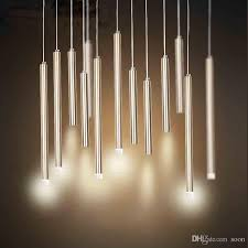 led cylinder pendant lights bar led light modern creative cylindrical pendant light led polished