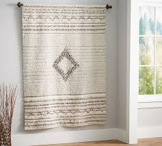 How To Hang Pottery Barn Curtains Moroccan Wedding Blanket Canvas Pottery Barn