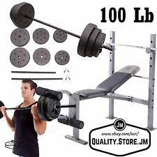 weight lifting combination strength training benches ebay