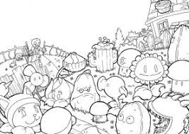 plants zombies coloring pages coloring4free