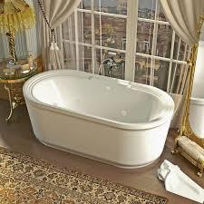 Freestanding Soaking Tubs Bathroom Fascinating 60 Inch Freestanding Acrylic Bathtub 122