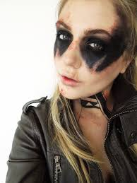 Fashion Halloween Makeup by Halloween Makeup Tutorial Post Apocalyptic Warrior Woman Post