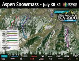 aspen map enduro series yeti cycles big mountain enduro presented by