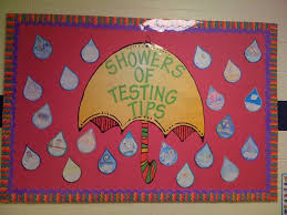 Showers of Spring Classroom Bulletin Board Idea