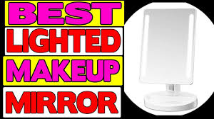 assis led lighted makeup mirror gotofine led lighted makeup mirror review youtube