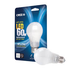 cree 60w equivalent soft white 2700k a19 led light bulb with