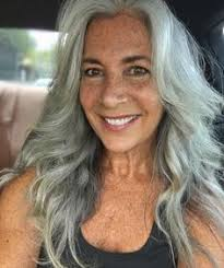 hairstyles for turning grey image result for stylish woman on instagram with long gray hair in