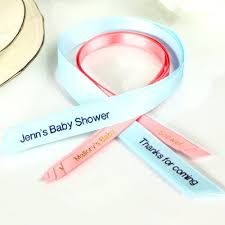 baby shower ribbons cheap personalized ribbons for baby shower 3 8 continuous ribbon
