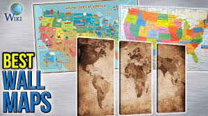 United States Map Wall Art by 10 Best Wall Maps 2017 Youtube
