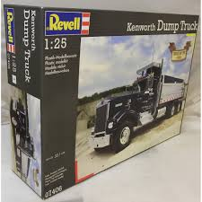 kenworth models history revell 1 24 07406 kenworth dump truck model kit revell from kh
