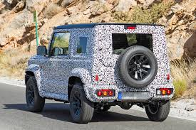 jeep suzuki suzuki jimny suv cute n u0027 rugged 4x4 spotted by car magazine