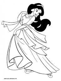 Coloriage Dessin de Jasmine dessin gratuit à imprimer