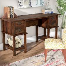 Writing Desk With Drawer by Bungalow Rose Antonio Writing Desk U0026 Reviews Wayfair