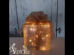lighted christmas present boxes lighted christmas present tutorial by trendy tree