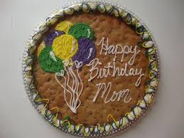 birthday cookie cake sweet delightz happy birthday cookie cake