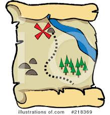 treasure map clipart treasure map clipart 218369 illustration by pams clipart