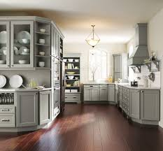 White And Gray Kitchen Cabinets by Gray Kitchen Cabinets Kitchen Other By Masterbrand Cabinets