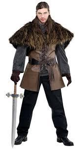 Barbarian Halloween Costume Viking Barbarian Warrior Furry Shoulder Cape Amscan 842983