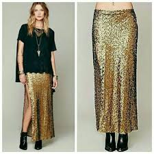 sequin skirt free free x moon gold mermaid sequin skirt