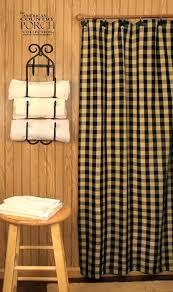 Check Shower Curtain Teadyed Buffalo Check Shower Curtain