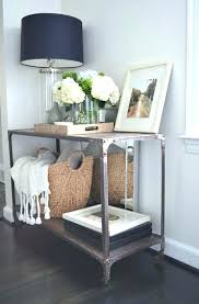 entry way table decor gray entry table whtvrsport co