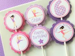 cookie party supplies 8 best gymnastics tumbling birthday party images on