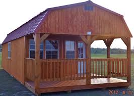 16x40 deluxe lofted cabin affordable buildings