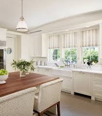 what shade of white for kitchen cabinets striped roman shades traditional kitchen dillon kyle architecture